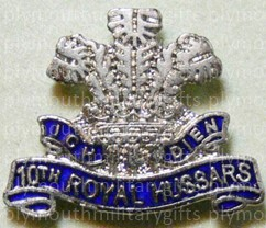 10th Royal Hussars Lapel Pin